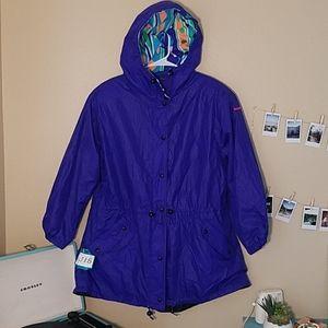 vintage 90s obermeyer windbreaker ski jacket